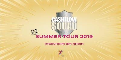 CASHFLOW SQUAD SUMMER TOUR in INGELHEIM (a. Rhein)