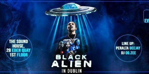 BLACK ALIEN IN DUBLIN