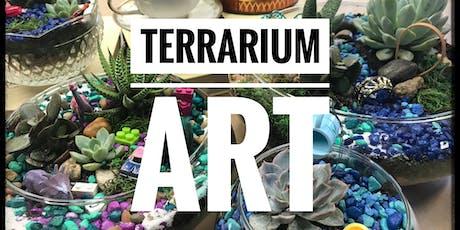 Terrarium Art: Design and create a whimsical, mini, succulent garden. tickets