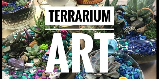 Terrarium Art: Design and create a whimsical, mini, succulent garden.