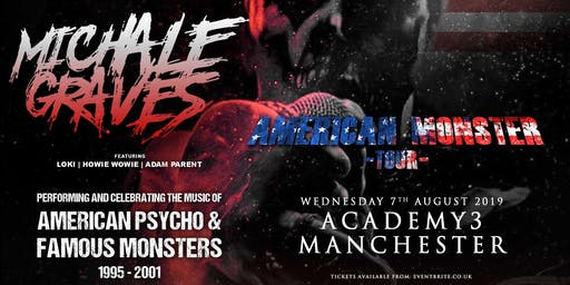 Michale Graves - Performing 'Famous Monsters' and 'American Pyscho' in full! (Academy 3, Manchester)