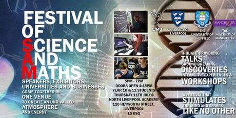 Science and Maths Festival tickets