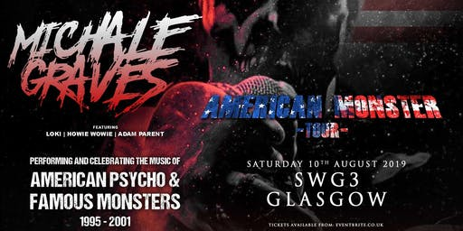 Michale Graves - Performing 'Famous Monsters' and 'American Pyscho' in full! (SWG3, Glasgow)