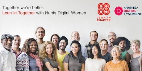 Hants Digital Women - Maximising use of social media tickets
