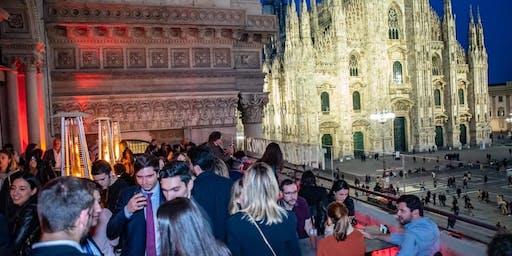 MFW Closing party Rooftop con Dj set Terrazza Duomo 21