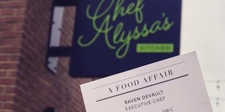 A Food Affair Pop-Up , Italian Tapas tickets