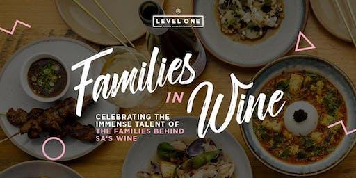 Families in Wine Dinner Series