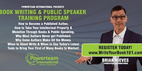 Book Writing & Public Speaking Workshop Chicago tickets
