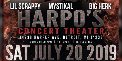 Second 2 None Promotions Presents Mystikal & Lil Scrappy & Big Herk
