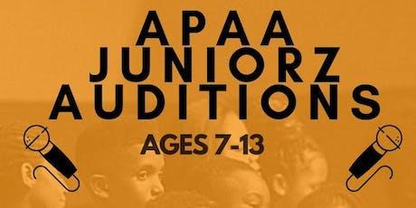 APAA JUNIORZ (AGES 7-13) tickets
