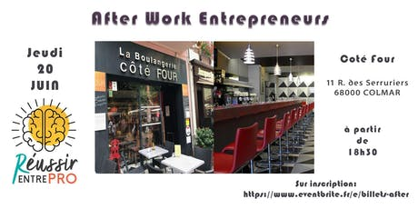After work Entrepreneurs Colmar billets