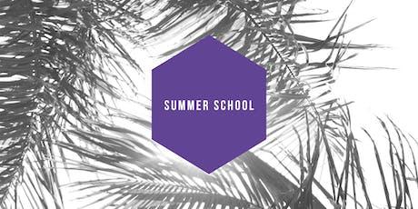 July Summer School 2019 tickets
