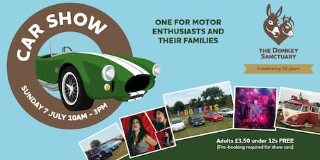 Car Show at The Donkey Sanctuary tickets