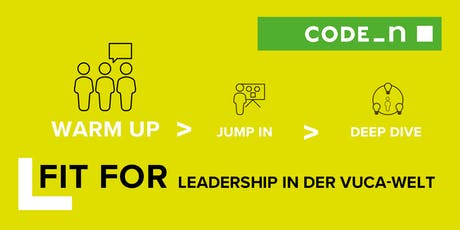 LEADERSHIP IN DER VUCA-WELT: WARM UP  Tickets