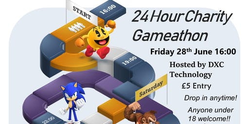 24 hour Charity Gameathon