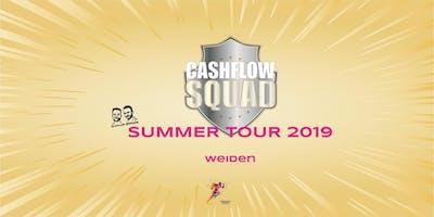 CASHFLOW SQUAD SUMMER TOUR in WEIDEN