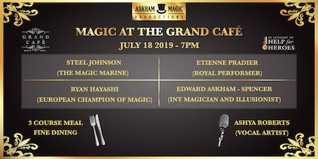 Magic At The Grand Café - Magic Show tickets