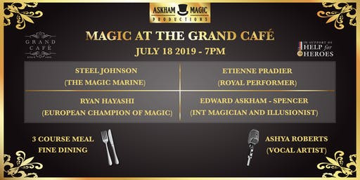 Magic At The Grand Café - Magic Show
