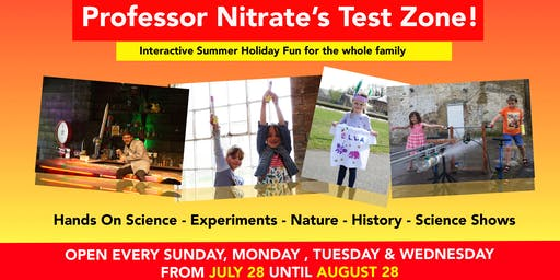 Professor Nitrate's Test Zone - Gift Aid