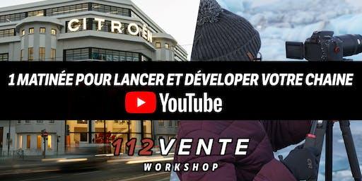 1 matinée pour développer votre chaine YouTube