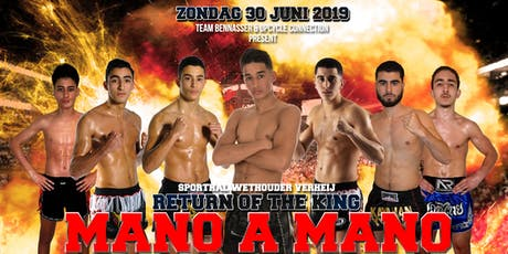 MANO A MANO - THE RETURN OF THE KING tickets