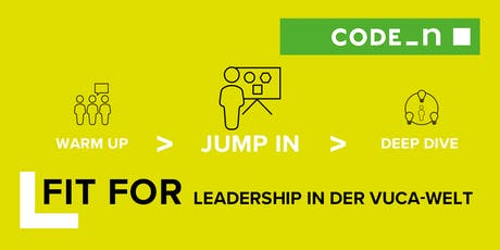 LEADERSHIP IN DER VUCA-WELT: JUMP IN Tickets
