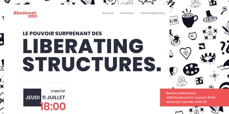Le pouvoir surprenant des Liberating Structures billets