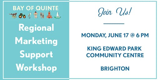 Regional Marketing Support Workshop