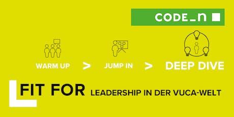 LEADERSHIP IN DER VUCA-WELT: DEEP DIVE tickets