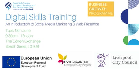 Digital Skills Training at The Cotton Exchange tickets
