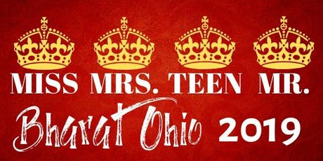 Miss Bharat Ohio 2019 tickets