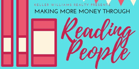 Making More Money Through Reading People tickets