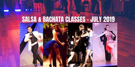 New July Salsa & Bachata Classes tickets