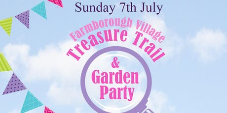 Farmborough Village Treasure Trail & Garden Party tickets