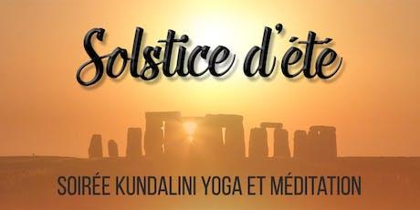 Célébration du Solstice d'été et Kundalini Yoga  tickets
