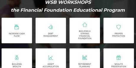 Financial Foundation Workshop 4 - Retirement Planning and Wealth Preservation tickets