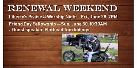 Renewal Weekend tickets