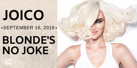 Joico Blonde's No Joke! tickets