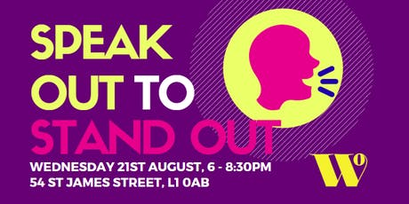 Business Club - Speak Out to Stand Out tickets