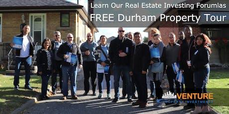 Durham Region Property Tour - June 22 2019 tickets
