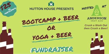 Hutton House Presents: Bootcamp and Beer Fundraiser tickets