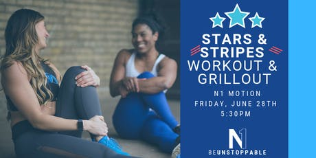 Stars & Stripes: Workout & Grillout!! tickets