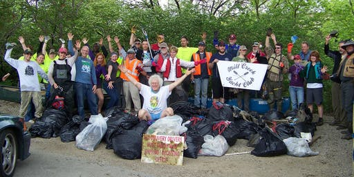 Mill Creek Alliance 7th Annual Upper Mill Creek Cleanup