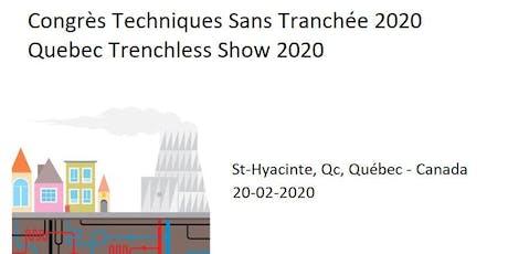 EXPOSANTS 2020 - Congrès Techniques Sans Tranchée billets