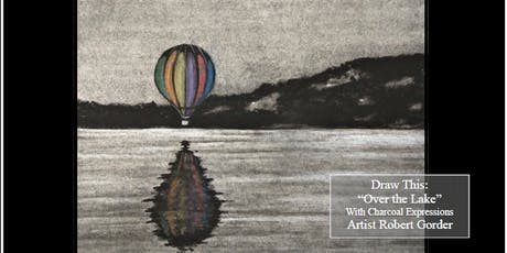 """Charcoal Drawing Event """"Over the Lake"""" in Mineral Point tickets"""
