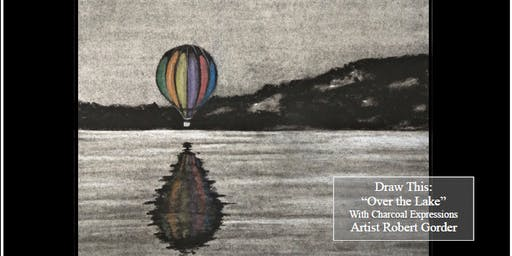 "Charcoal Drawing Event ""Over the Lake"" in Mineral Point"