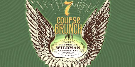 7 Course Sunday Brunch With Frederick Wildman! tickets
