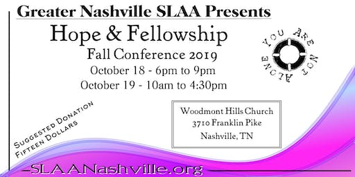 Hope & Fellowship: A Recovery Conference