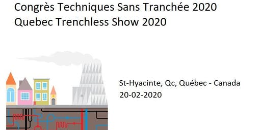 EXHIBITORS 2020 registration- Quebec Trenchless Show