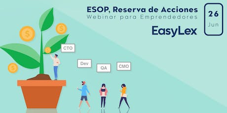 Crear Acciones para Colaboradores (Employee Stock Option Pool) entradas